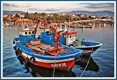 Barcos en Redondela (Vctor Bao) Tags: barcos mywinners vctorbao