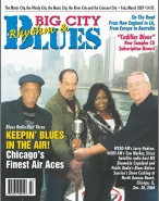 "KCSB Bluesland DJ Leo Schumaker Featured in Feb.-March 2007 Issue of ""Big City Rhythm & Blues"" Magazine"