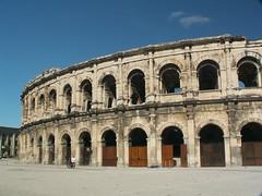 Roman Amphitheater (pbr42) Tags: france architecture roman amphitheater nimes