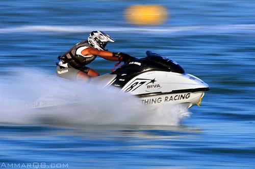 Jet Skis racing