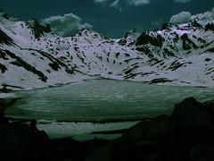 Lake -  Mercantour (Valentina_A) Tags: parco mountain lake snow lago neve alpi francia montagna mercantour ghiaccio laghetto naturesfinest naturale ghiacciato ghiacciai tearsandrain
