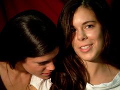 Ele e Le' (franny2007) Tags: portrait set occhi sorriso fotografia ritratto bocca luce dolcezza amica eleonora naso capelli lelia profilo ciuffo cugina