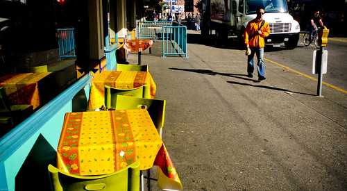 Yellow Tables                                            070612_JWS_L1010366