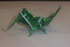 Japanese Giant Grasshopper (PhillipWest) Tags: origami paperfolding papiroflexia