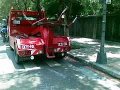車被拖吊罰1900NTD