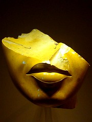 Fragment from head of Queen Teye, wife of Amenhotep III (ggnyc) Tags: nyc newyorkcity yellow head egypt lips met metropolitanmuseumofart fragment ancientegypt egyptology egyptianart amarna dynasty18 yellowjasper earlyamarnaperiod queenteye amenhoteplll