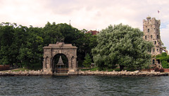 Arch & Alster from the water (a Dan of action) Tags: 1000islands boldtcastle stlawrenceriver alexandriabay
