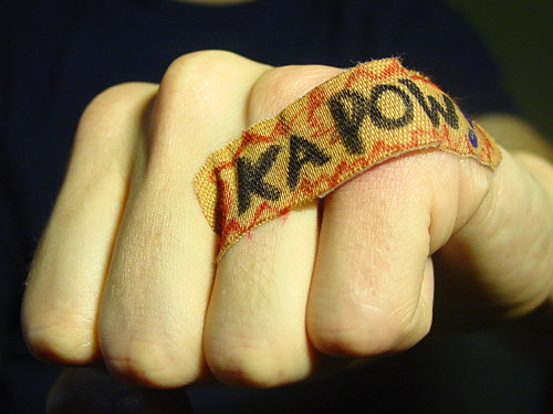 kapow, courtesy of waytoocrowded on flickr