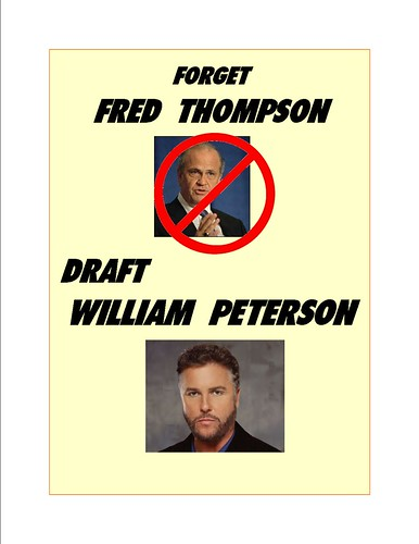 Is Fred Thompson Back, Or Is It a Re-Run? Yes and Yes.