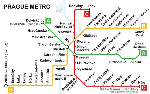 Prague Metro Map Pdf.Images And Places Pictures And Info Prague Metro Map Pdf