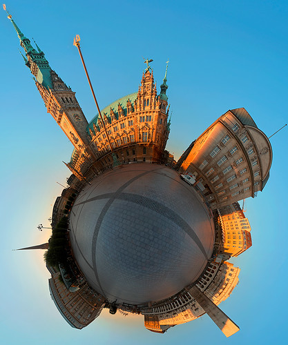 Hamburg Rathausplatz by konderminator