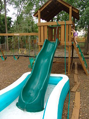 The ghetto water slide