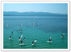 shades of blue (Mulia) Tags: blue sea summer sky sun beach beautiful island mare croatia bol brac mulia