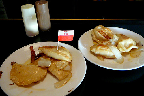 The Polish pierogi