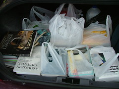 Books in the trunk