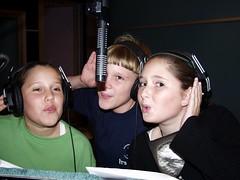 Kids vocal session