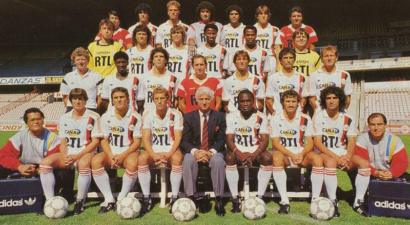 paris saint-germain 1986-87