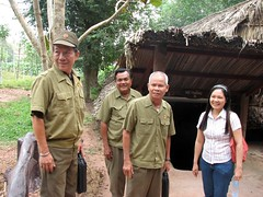 War Veterans at Cu Chi