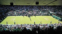 View from row Z (Su--May) Tags: road uk england london church club all lawn tennis wimbledon sw19 the wimbeldon 5ae wimbledontenniscentrecourt 22june2010 theallenglandlawntennisclubchurchroadwimbledonlondonsw195ae