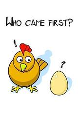 primero huevo gallina