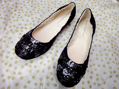 Black flats from Tsumori Chisato WALK