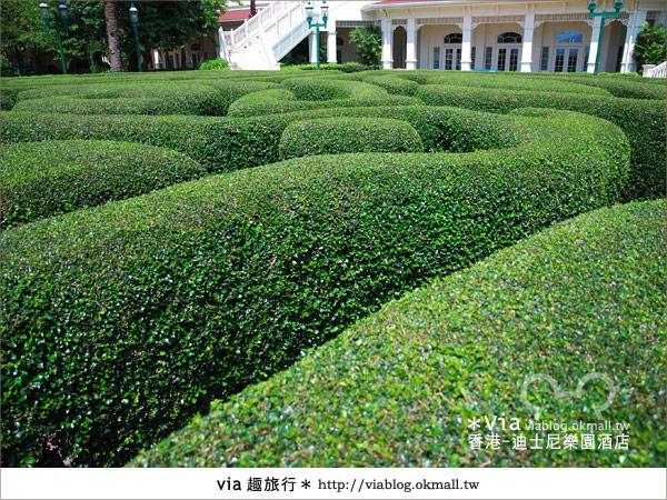 【香港住宿】跟著via玩香港(4)~迪士尼樂園酒店(外觀、房間篇)7