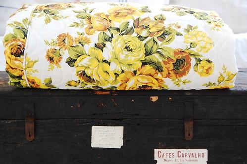 thrifted vintage comforter
