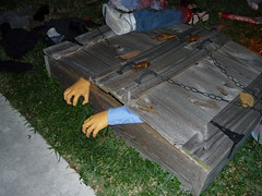 Holding Pit (Guardian of the Gate) Tags: halloween cemetery graveyard horror hauntedhouse indianwellscemetery