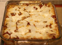 Four Cheese Lasagna Baked