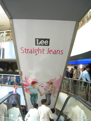 Straight Jeans - The Down Escalator