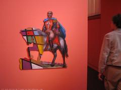 documenta 12 | Juan Davila / The Liberator Simón Bolívar | 1994 | Neue Galerie