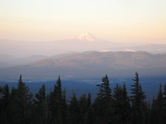 Early morning light on Mt. Hood