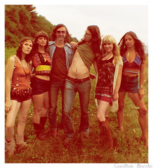 family (blackmoonbobo) Tags: family trees friends grass hippies vintage hair photography amazing apache hill courtney brooke lovers clothes babes 70s shorts moccasins
