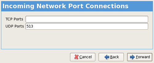 incoming network connections screenshot