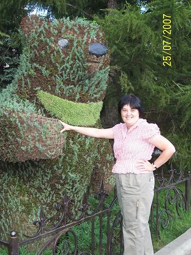 Стали популярны растительные скульптуры