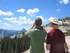 Like Father, Like Son (banzaibuoy) Tags: dad calvin yosemite olmsteadpoint