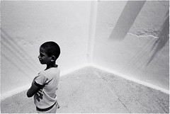 Boy, Asilah (keithbgoldstein) Tags: leica light boy shadow blackandwhite film northafrica muslim rangefinder morocco moroccan asilah leicam4 leicam blackwhitephotos leicaelmarit28mmf28ii leicammountlenses leitz2828elmarit