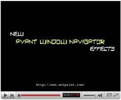 Avant Window Navigator Effects YouTube Video