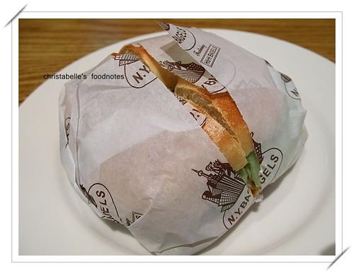 NY Bagel墨西哥辣鮪魚三明治