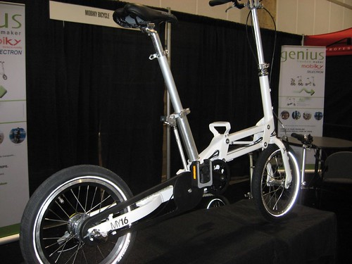 Mobiky folding bicycle