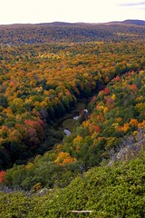 Carp River (Neil Weaver Photography) Tags: autumn trees fall water up stream michigan upperpeninsula porcupinemountains porkies carpriver