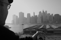 Let me see the world through your eyes ... (so_martinha) Tags: city nyc ny newyork buildings pier eyes view manhattan brooklynheightspromenade newyorker manhattanview smrgsbord