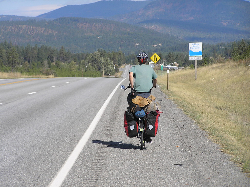 500 Mile bike ride to Idaho, Sept - Oct 2007