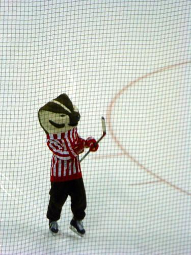 Bucky Badger: On Ice!