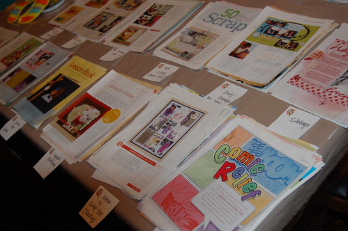 Sorting Scrapbook Inspiration