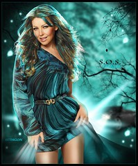 Thalia - S.O.S. (BETHGON blends) Tags: mexicana thalia artista blend bethgon