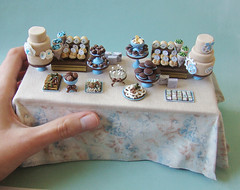 Miniature Dessert Table - Alice Project - Shau...