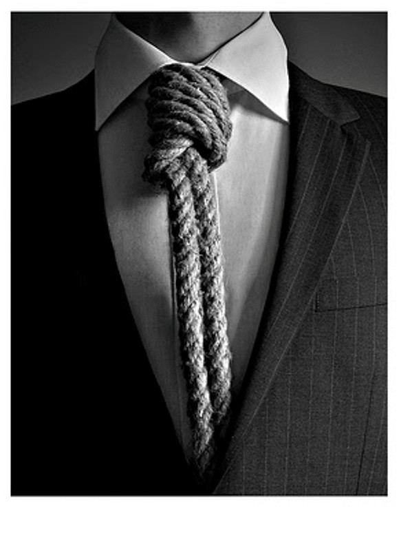 rope necktie