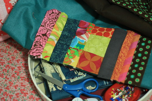 to make patchwork
