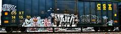 IMG_5895 (mightyquinninwky) Tags: railroad graffiti tag graf tracks railway tags tagged railcar rails boxcar graff graphiti freight trainart fr8 railart boxcarart freightart taggedboxcar paintedboxcar paintedrailcar taggedrailcar